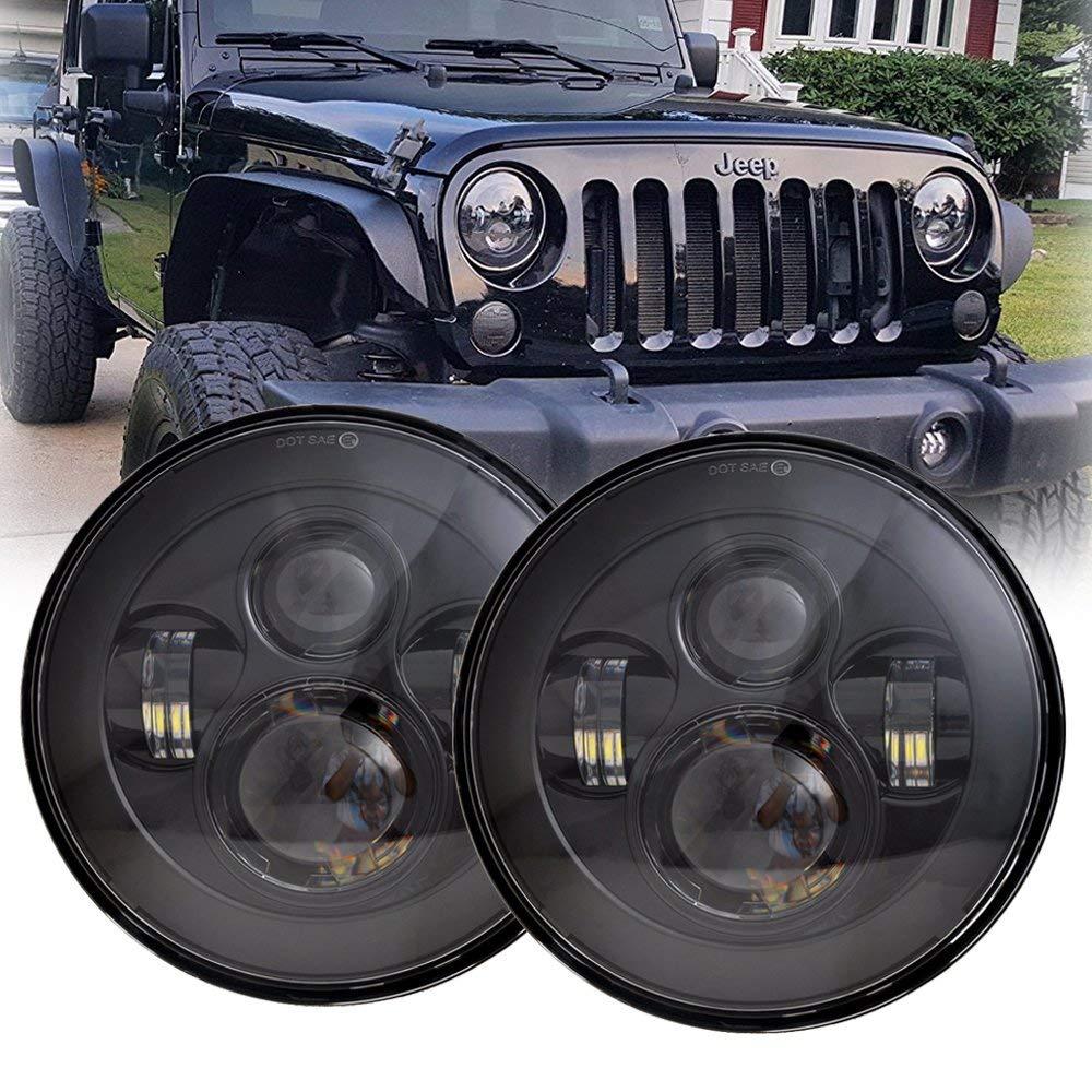 Led Headlights for Jeep Wrangler JK TL LJ