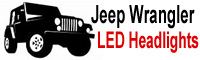Jeep Wrangler Led Headlights Logo