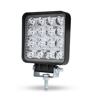 48w 4x4 Led Driving Lights Flood Spot Beam 12V 24V Square Led Offroad Lights for Jeep Wrangler