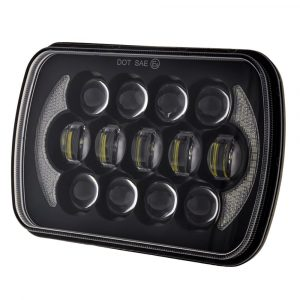 5X7 Square Led Headlights for Jeep Wrangler YJ Cherokee XJ