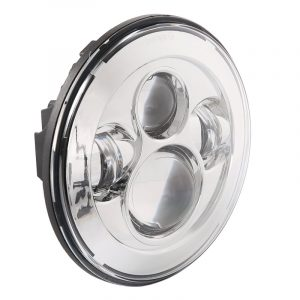 45W 7'' Round Led Projector Headlight for Harley Davidson with High Low Beam