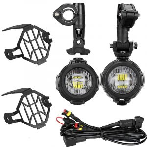 40W Led Auxiliary Fog Lights for BMW Motorcycle F800GS ADV / R1200GS / R1200GS ADV