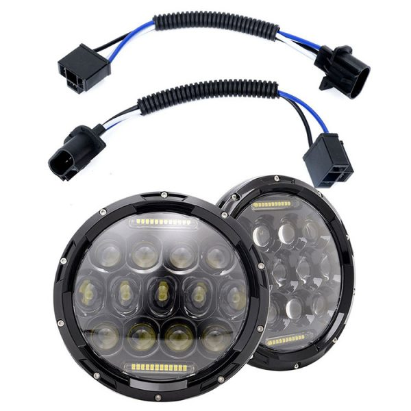 Jeep Wrangler JK Led Headlights H4 Connection