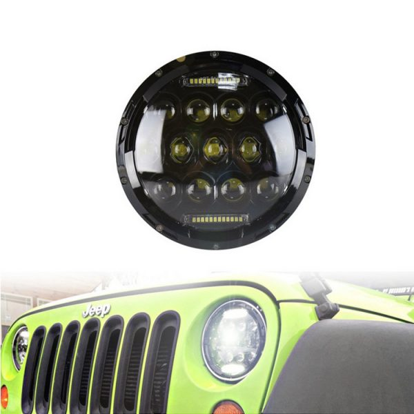 Jeep Wrangler JK Led Headlights Show