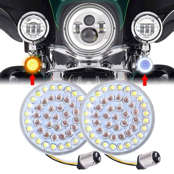 1157 front turn 1156 rear lights dot motorcycle turn signals