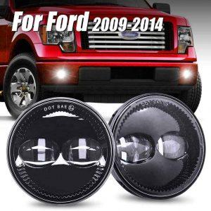 2007-2014 F150 Led Fog Light Replacement Kit F150 Led Bumper Lights