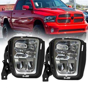 2013-2017 Dodge Ram 1500 Pickup truck parts factory style led fog light