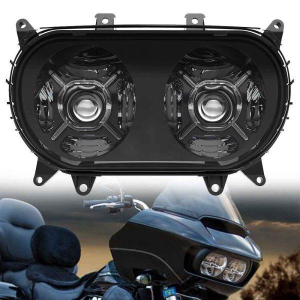 2015-2020 Road Glide headlamp Black/Chrome led headlamp for harley