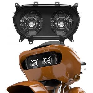 2015+ Road Glide headlights led double headlights for harley-davison 2015 2016 2017 2018 2019 2020