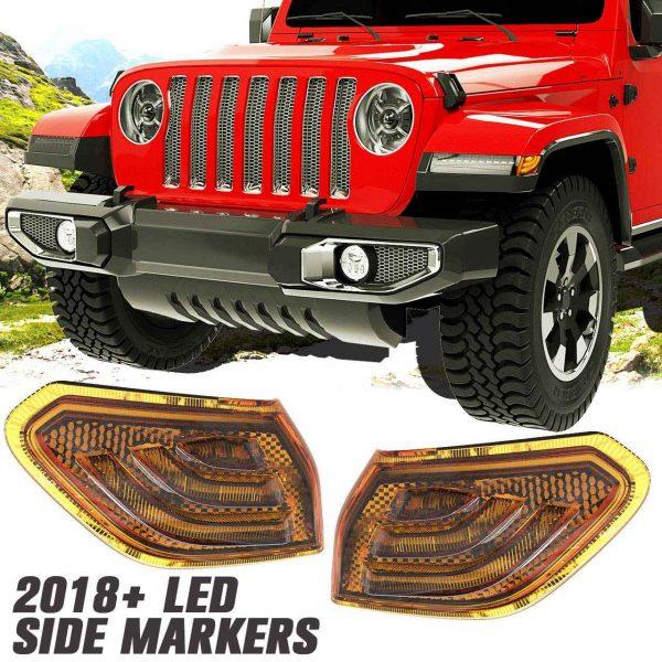 2018 side marker for jeep wrangler JL lights for wrangler jl light rubicon for jeep wrangler 2020