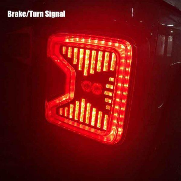 2018+ stop light for jeep jl tail light brake reverse for wrangler jl