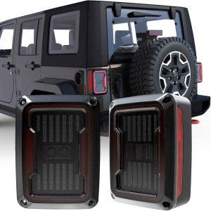 2020 Newest JK Led Tail Light Assembly for Jeep Wrangler JK/JKU 2007-2017 Jeep JK accessories DOT approved