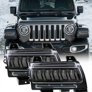 2020 for jeep gladiator sport fenders for jeep jl accessories for jeep jl fender light