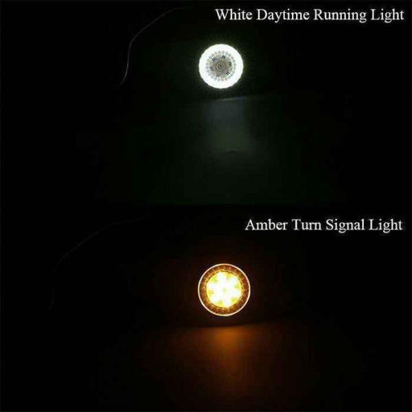 """2"""" Front LED Turn Signals For Harley Davidson"""