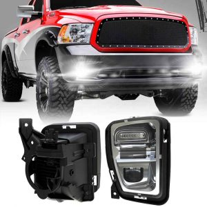 36W for Dodge ram truck fog lights dodge ram 1500 headlights OEM replacement lighting for 2013-2017 dodge ram fog lights