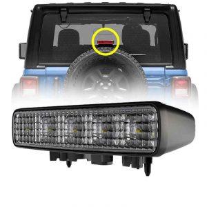 3rd tail light Red color led stop light for Jeep Wrangler JL 2018-2019 High brake light