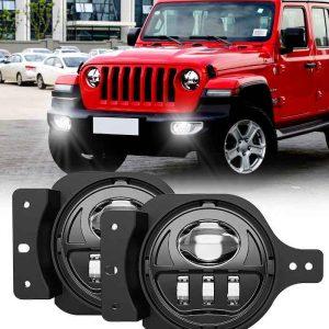 4 ''LED fog lamp for jeep wrangler jl for jeep jl fog light for jeep jl