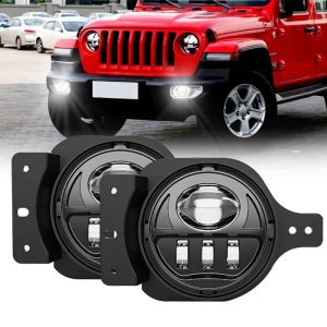 4 inch fog light for jeep jt for jeep jl fog light for jeep wrangler jl fog light
