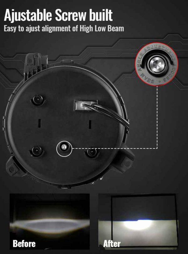 9 jl headlights for jeep jl headlight new design for Jeep Gladiator