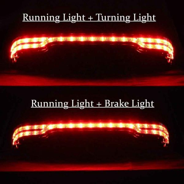 For Harley Touring 97-08 Electra Glide Ultra Classic tail light brake turn signal for harley