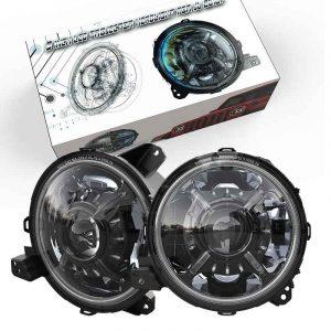 For wrangler jl 9 inch led headlight dot approved jl headlight