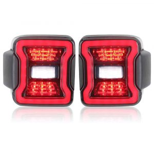Tail light smoke accessories stop led for jeep wrangrer 2019 for jeep wrangler jl