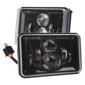 Truck Led Headlight Conversion Kit 4 x 6 square headlight