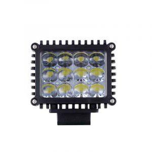 Truck led work lights 5D lens led lights with mounting bracket stainless steel led work lights for jeep car work lamp