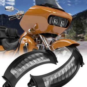 Turn Signal Motorcycle parts for Harley road glide turn signals for harley turn signals amber white