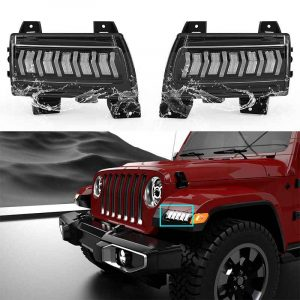 Turning light for jeep jl turn signal for jeep wrangler jl led for jeep wrangler tj accessories