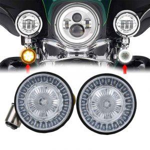 Turning light motorcycle brake light white/amber/red 1156 1157 for Harley turn signal light