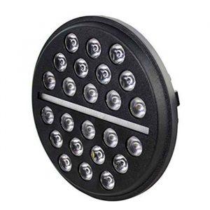 Wrangler JK Accessories 60 Watts 7 In Projector Lens Headlight for Jeep/Motorcycle/Hummer