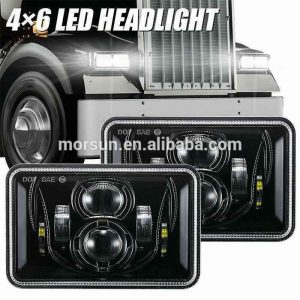 truck accessories led headlight 4x6 rectangle led dot replacement