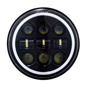 turn signal led headlight 5 3/4 for harley touring motorcycle 5.75 led lights