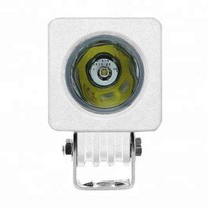 white housing led marine work light 12V 24V working light automotive lighting